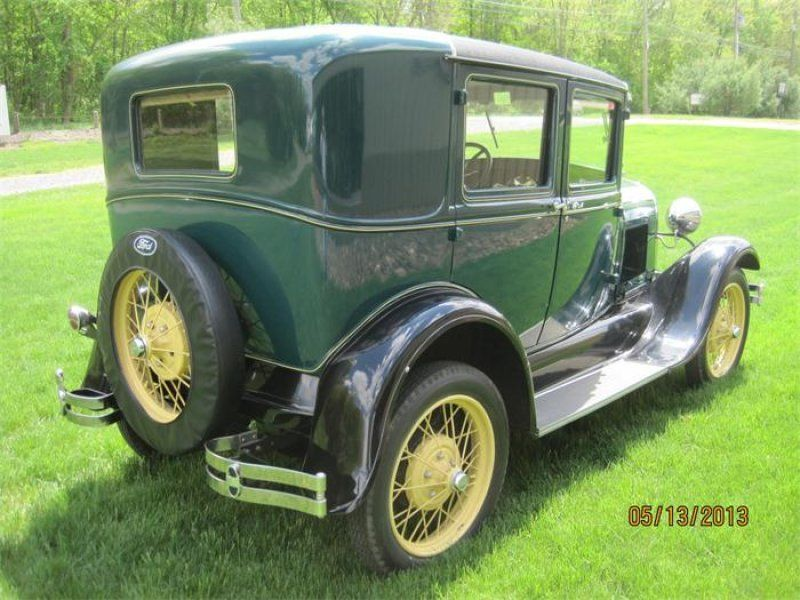 Classic 1929 ford 4 dr model a 4 door steel back briggs body for sale in ellington connecticut for 1929 ford model a 4 door sedan
