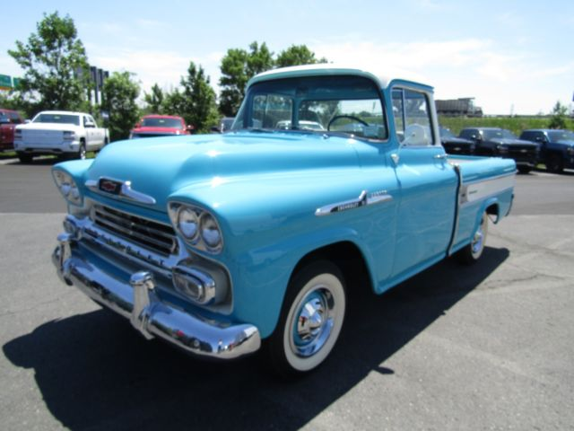East Syracuse Chevrolet >> Classic 1958 Chevrolet Apache Cameo - Chevy Tartan ...