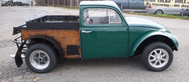 Classic 1964 Vw Beetle Pickup Truck  Original Volkwagen Caddy  Runs Drives Well For Sale  Photos