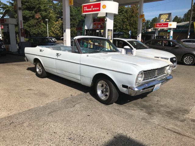 classic 1968 ford falcon convertible with 289 daily driver. Black Bedroom Furniture Sets. Home Design Ideas