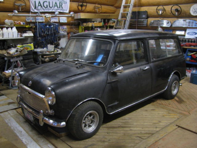 Classic 1969 Austin Mini Hot Rod Wagon For Sale In Salmon Arm