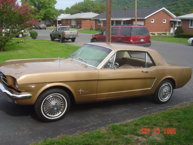 Classic All Original Ford Mustang For Sale on 1965 289 Mustang Engine Number Location