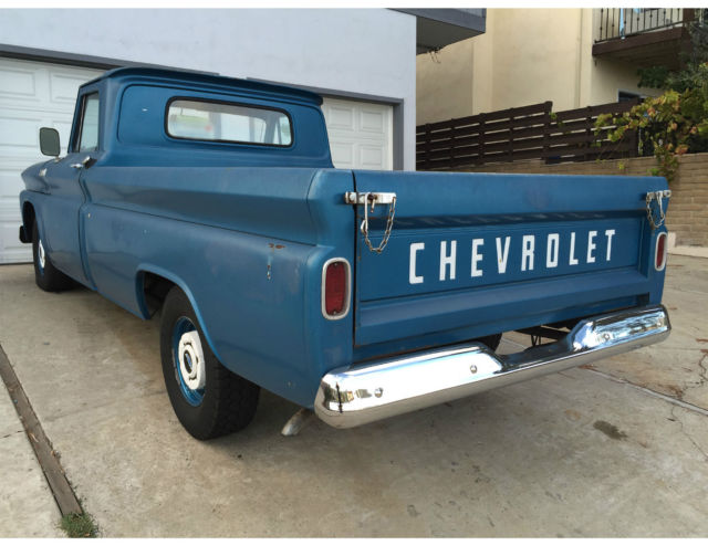 Classic California 1965 Chevrolet C10 Long Bed pick up for