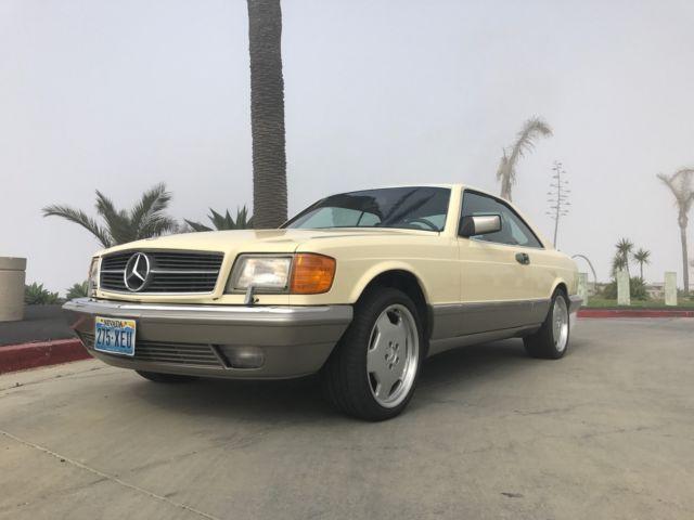 Classic Mercedes-Benz 560 SEC for sale