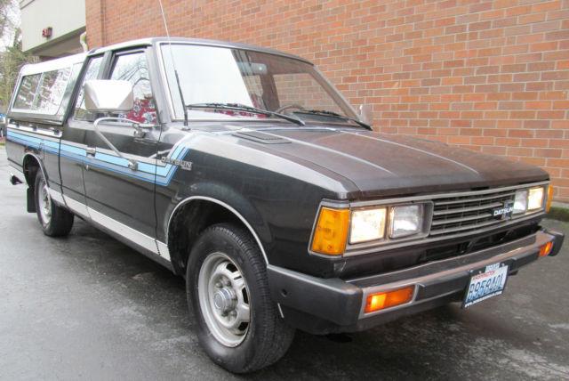 clean 1 owner datsun 720 king cab pickup truck 5spd nissan original survivior. Black Bedroom Furniture Sets. Home Design Ideas