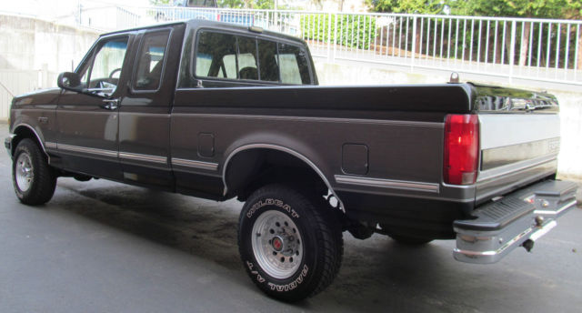 Clean Low Mile Ford F 150 Xlt 4x4 Extended Club Cab Pickup Truck 4wd Rare 5 8l For Sale Photos
