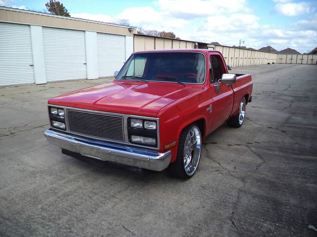 clean texas truck 81 chevy swb 454 big block for sale in houston texas united states. Black Bedroom Furniture Sets. Home Design Ideas