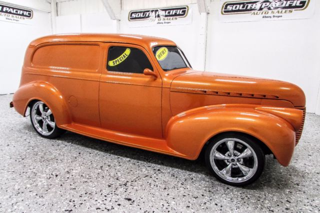 Custom 1940 Chevrolet Sedan Delivery Special Deluxe Panel