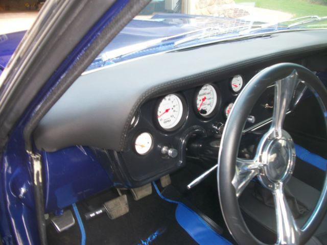 custom 1966 gto ,custom 2006 interior very comfortable , impulse blue for sale in Shingletown