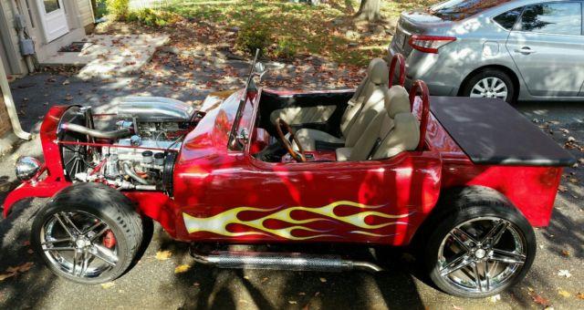 Custom Chevy Corvette Street Hot Rod Like T Bucket Model A Rat Rod Chopped C