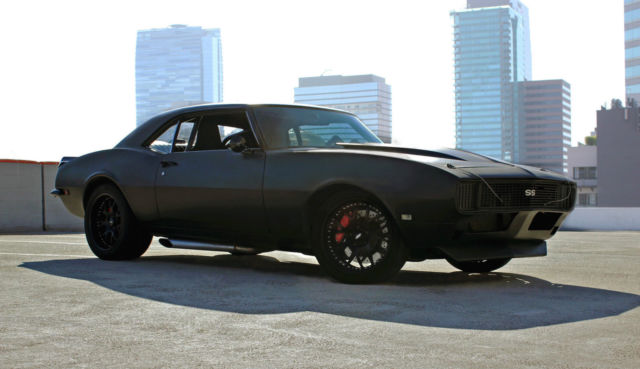 custom protouring 1968 chevrolet camaro ls1 muscle car for sale in los angeles california. Black Bedroom Furniture Sets. Home Design Ideas