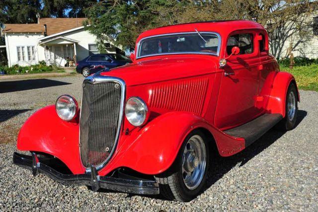Strange Custom Steel Restomod 1933 34 Ford 5 Window Chevy 327 350 9 Spiritservingveterans Wood Chair Design Ideas Spiritservingveteransorg