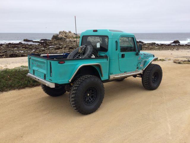 Customer Built Jeep Brute Pickup Truck Conversion 4 0