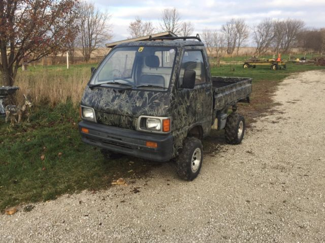 Daihatsu High Jet Mini Truck 4x4 For Sale: Photos