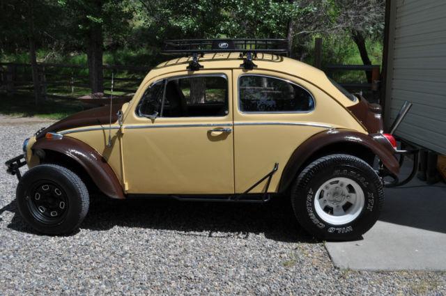 Desert Tan And Brown Baja Bug 1964 Body 1970 Engine For