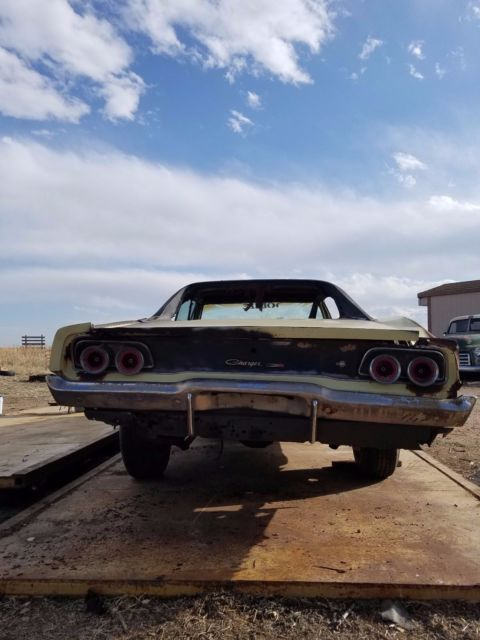 68 Rt Charger: Dodge Charger 68-69