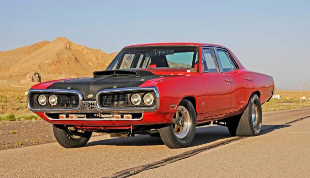 DODGE CORONET 1970, 4 DOOR 426 Hemi Mega Block w/ 440 Indy ...