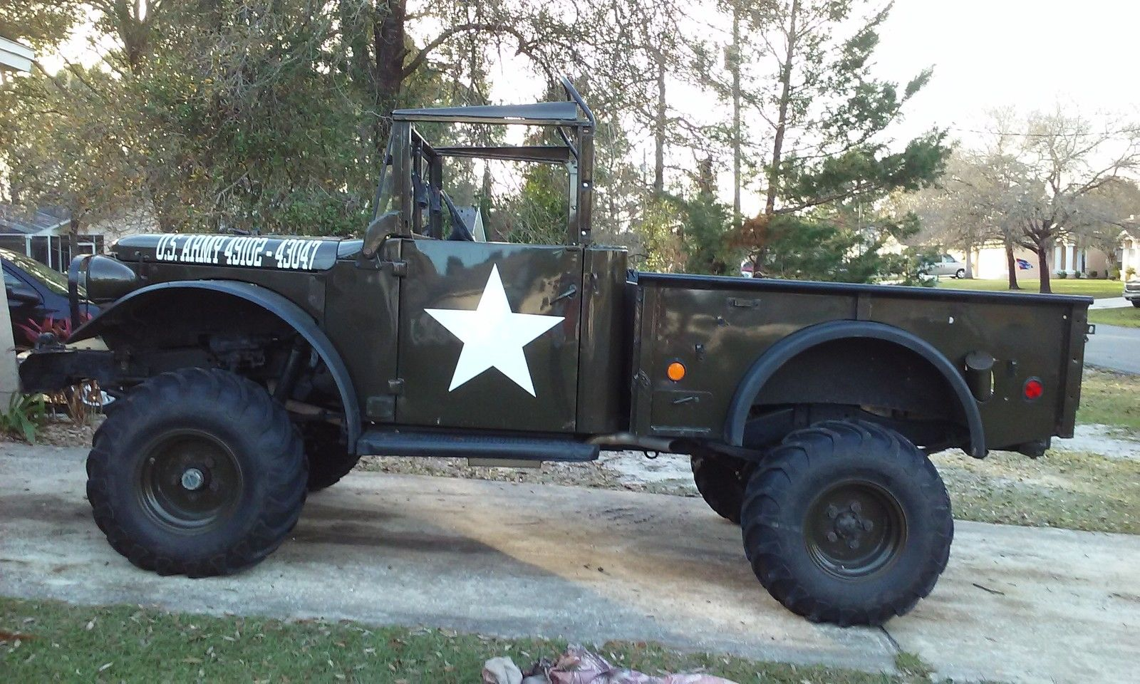 Dodge M37 Restored Army Truck Chevy V-8 for sale in Spring ...