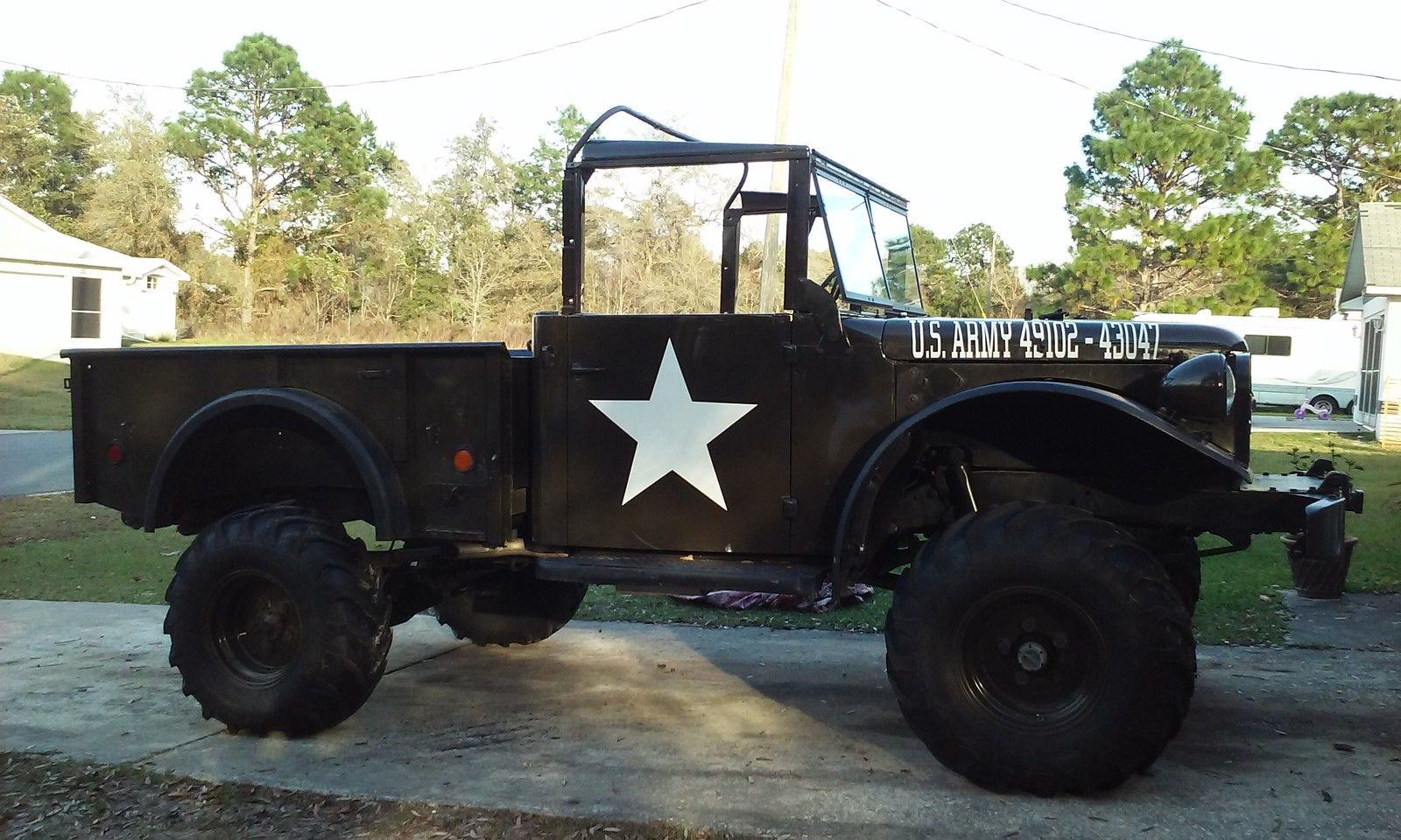 Dodge M37 Restored Army Truck Chevy V