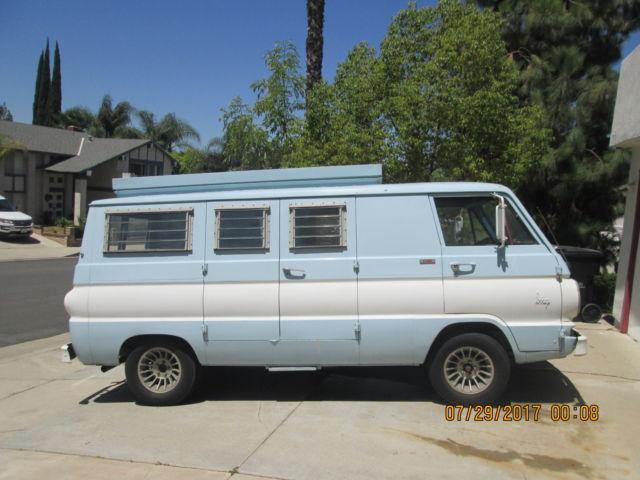 1969 Dodge A108 Camper Van – Home Exsplore
