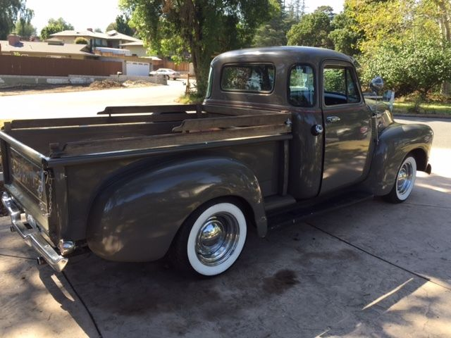 early 1955 chevy 5 window pick up truck for sale in