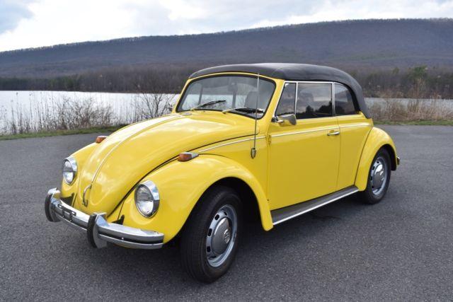 Excellent 1968 Classic Volkswagen Beetle Convertible