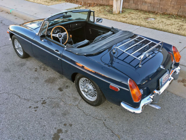 Excellent Restored MGB Roadster. Wire Wheels, Rare Overdrive ...