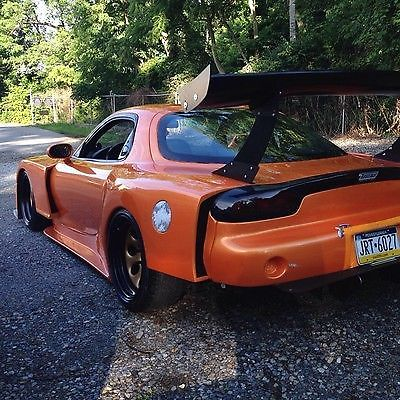 Mazda West Chester >> Fd Rx7, wide body lambo orange garret 35r for sale in West Chester, Pennsylvania, United States ...