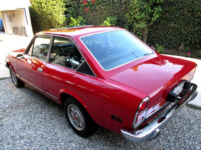 Fiat Of Cc >> Fiat 124 Sport Cc Coupe Survivor 1973 Excellent Body Rust Free