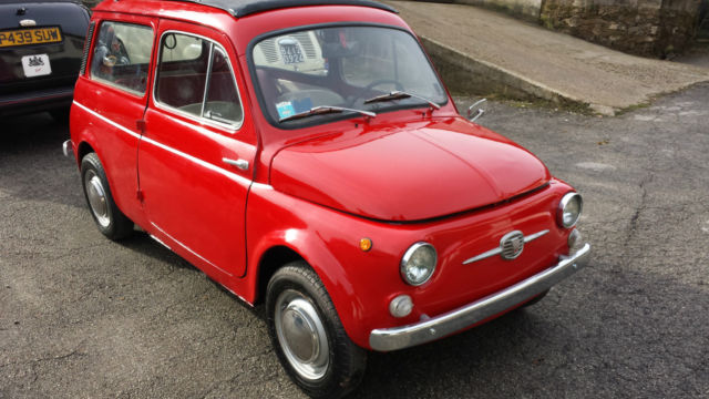 fiat 500 giardiniera station wagon in good order with full length sun roof. Black Bedroom Furniture Sets. Home Design Ideas