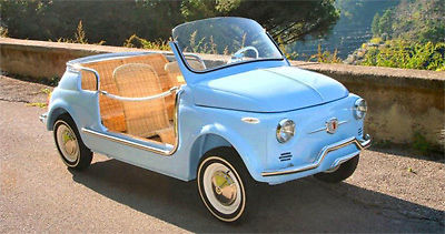 Fiat 500 Replica Spiaggina For Sale Photos Technical