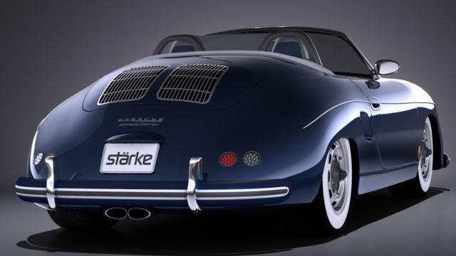 First Ever 357 Porsche Speedster 325 Hp Pdk Porsche