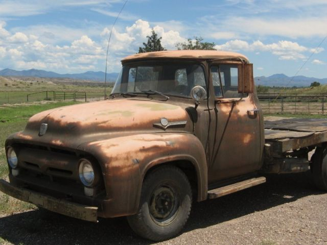 Ford 1955 F250 Dually Flat Bed From Ford For Sale In Buckhorn  New Mexico  United States For