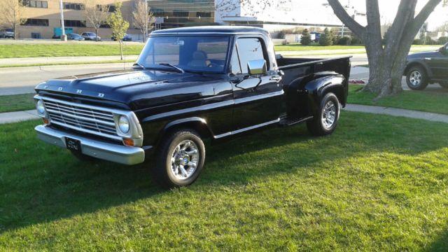 FORD 1967 F250 CUSTOM CAB STEPSIDE 2WD LONG BED  640 x 360 jpeg ford-1967-f-250-custom-cab-stepside-2wd-long-bed-streetrod-2.JPG