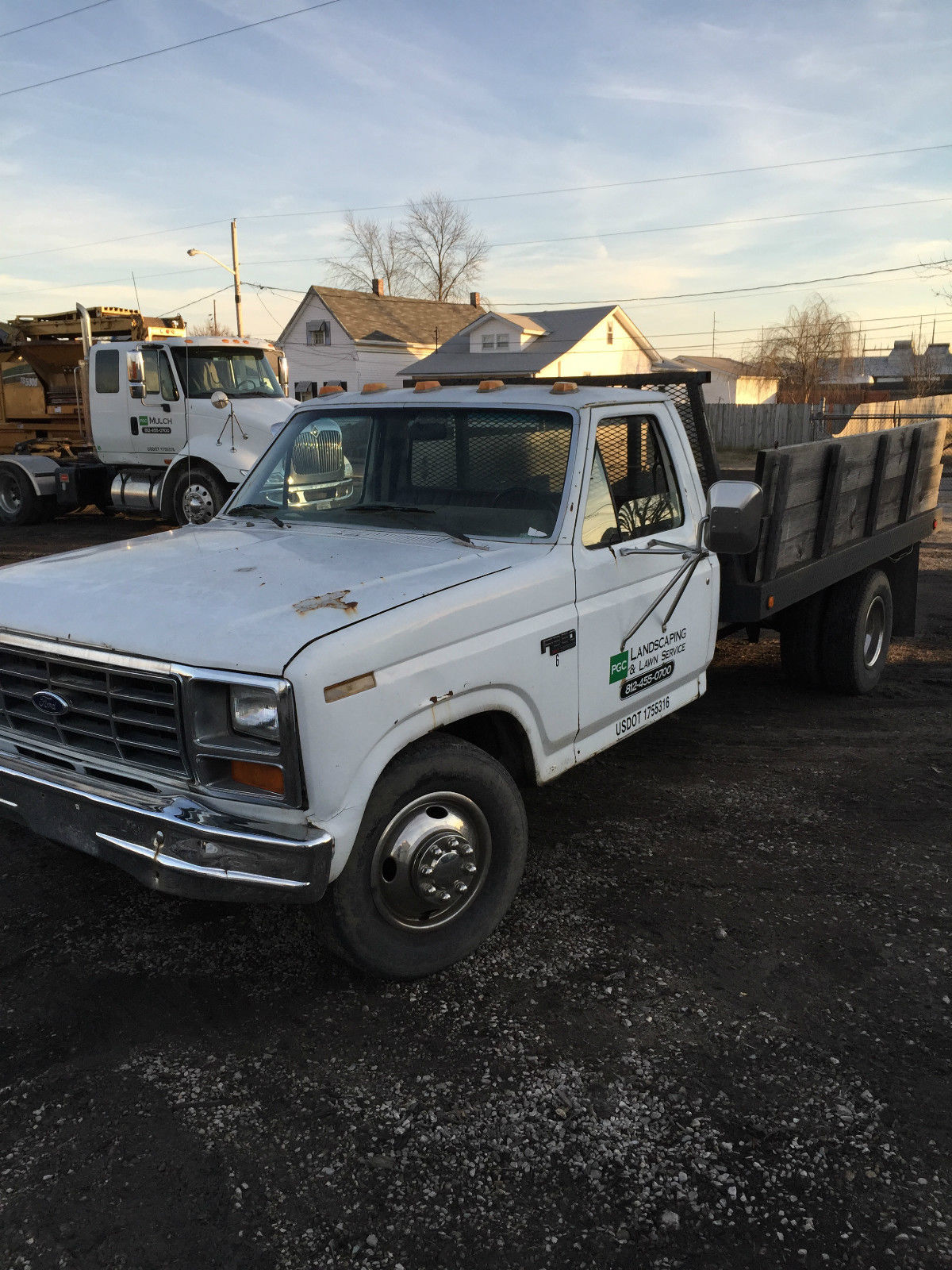 Ford F350 1 Ton Dump Truck Single Axle For Sale In