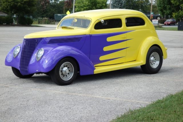 Ford Hot Rod Street Rod Yellow Purple With 32 584 Miles