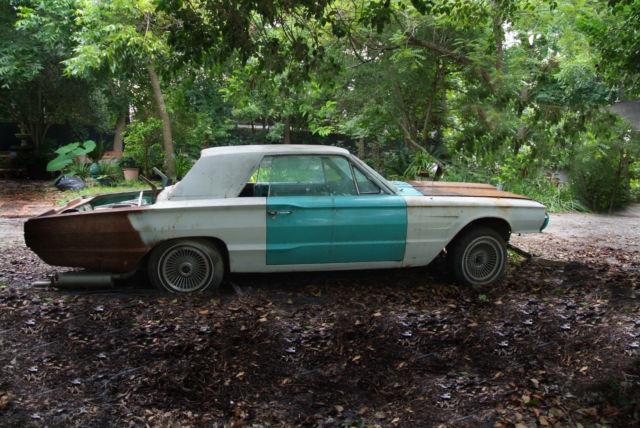 ford thunderbird 1965 hard top 2 door car salvage parts. Black Bedroom Furniture Sets. Home Design Ideas