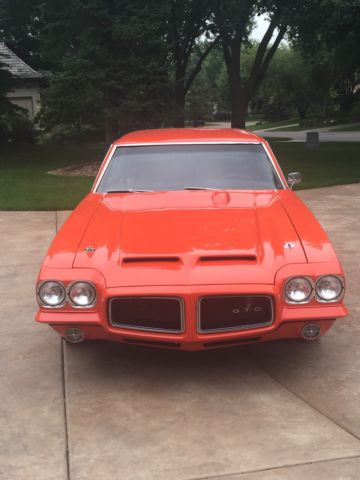 frame off restoration mod prof rebuilt motor 487 hp spoiler orange for sale in eden prairie. Black Bedroom Furniture Sets. Home Design Ideas