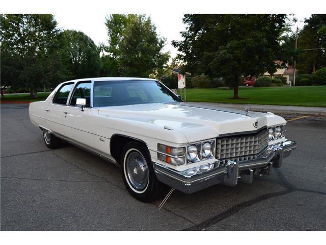 Gorgeous 1 Owner 83k Actual Mile Survivor 1974 Cadillac