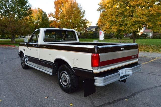 Gorgeous Two Owner 63k Actual Mile 1990 Ford Xlt Lariat Pickup