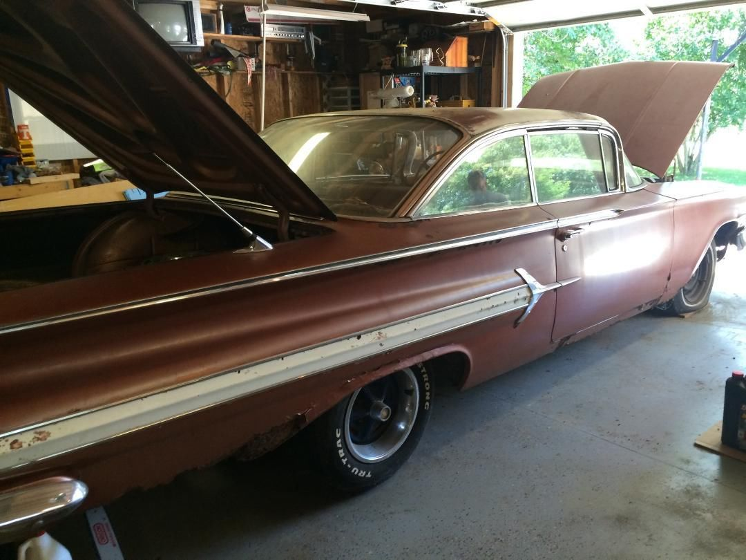 Grandpaws 1960 Chevrolet Impala 2 Door Bubbletop Project