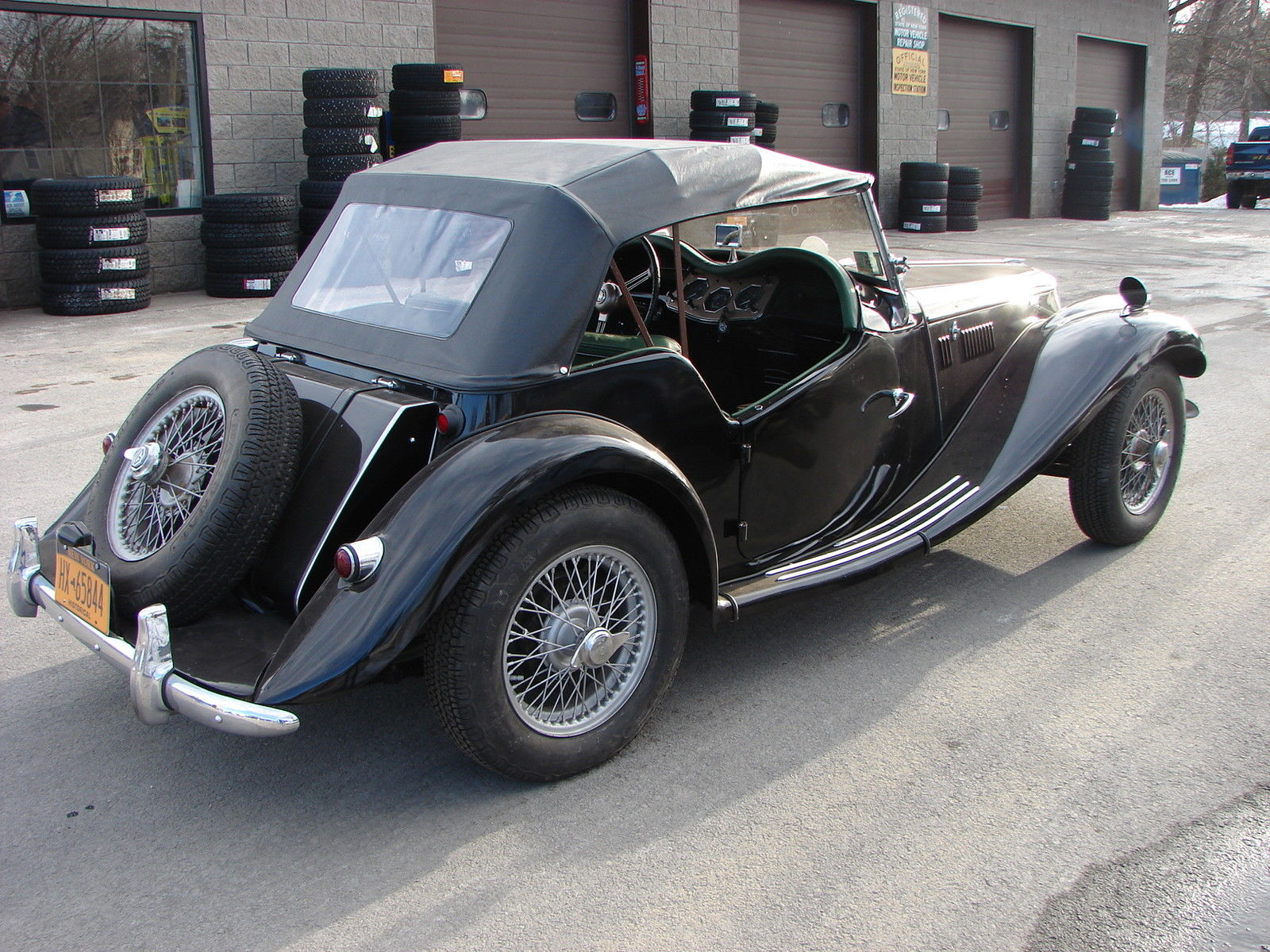 Ground up restoration mg tf 1500 with supercharger and five 1955 mg t series tf 1500 vanachro Images