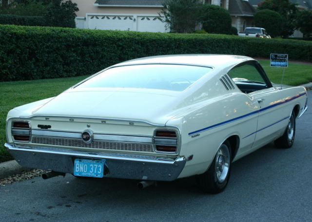 HARD TO FIND - RESTORED - FACTORY A/C - 1969 Ford Torino GT