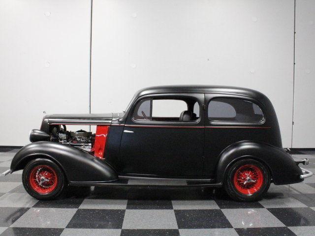 Hotrod Black Steel Body Custom Leather Interior 350 V8