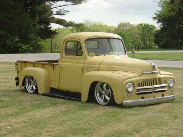 international pickup rat rod c10 3100 shop truck hot rod