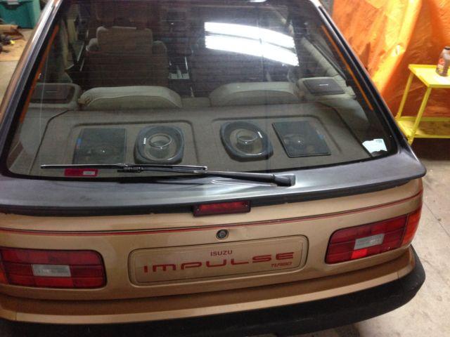 isuzu impulse turbocharged RWD coupe for sale in Amery Wisconsin