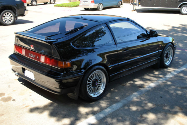 JDM RHD HONDA CRX EF6 LIMITED RARE 1.5X STYLE S2 BLACK 1991 RIGHT HAND DRIVE for sale in Denton ...