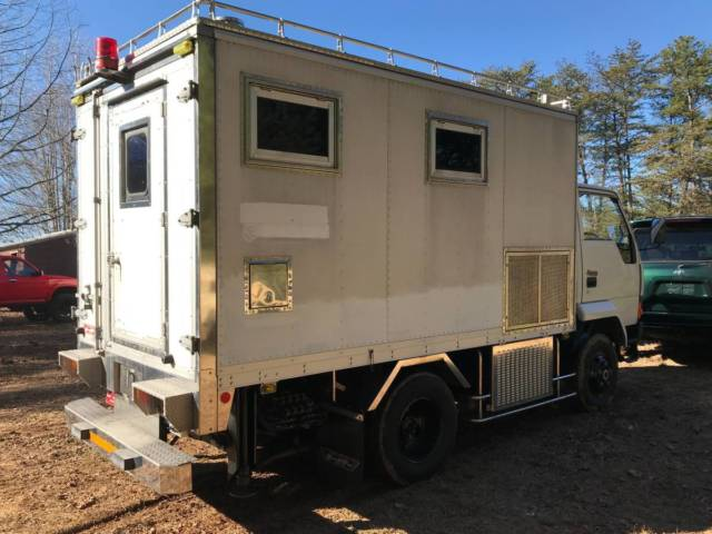 JDM right hand drive Mitsubishi Fuso bugout 4x4 Expedition