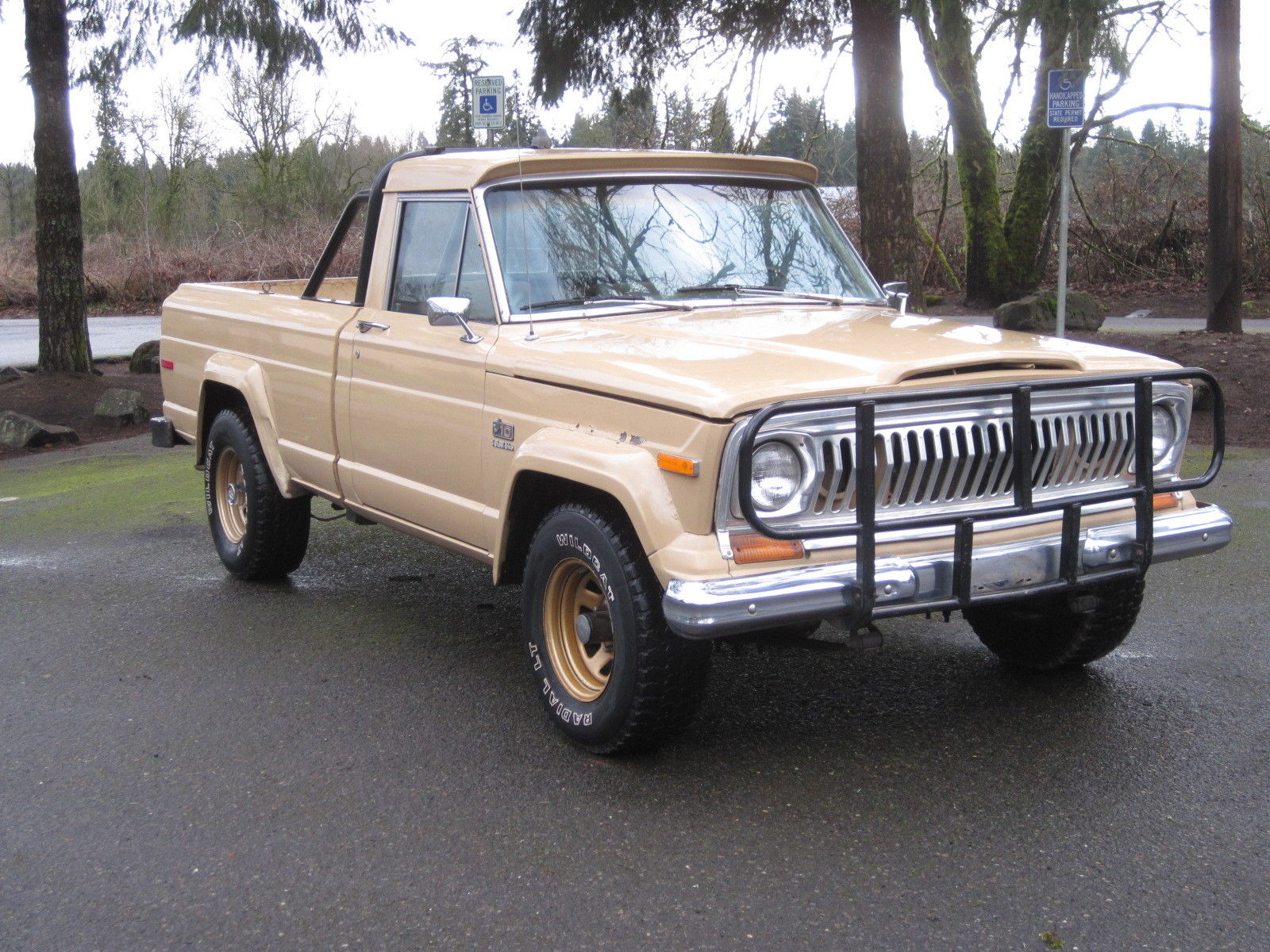 Truck Grill Guard >> Jeep 1978 J10 J-10 GOLDEN EAGLE 401 Shortbed 4x4 Rust Free Original Truck Levi's for sale in ...