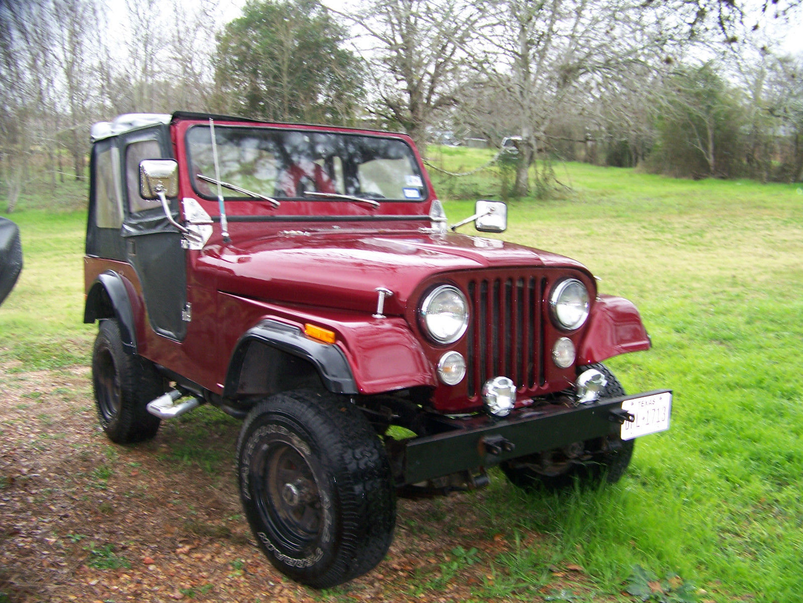 Jeep cj 1978 - 4 speed 318 v-8 -4x4 fold down top moron for sale in